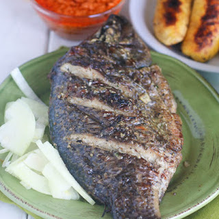 Grill Tilapia(African Style).