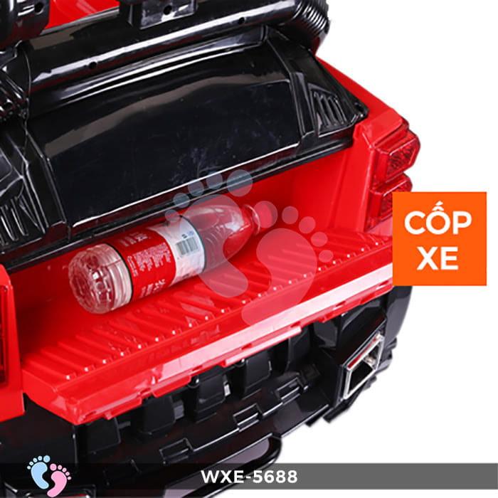 Ô tô điện cho bé WXE-5688 2 động cơ 6