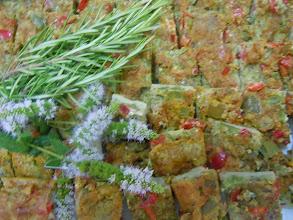 Photo: tortillas aux petits légumes
