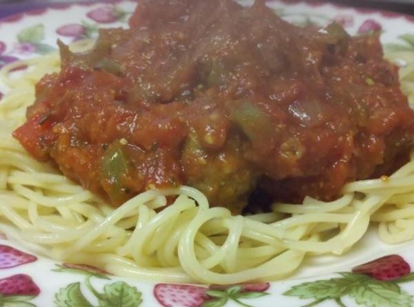 Susan's Spaghetti Sauce Recipe