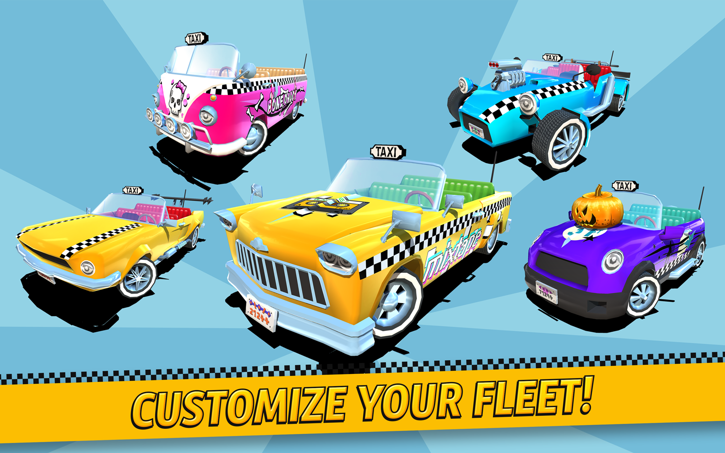 Crazy Taxi City Rush- screenshot