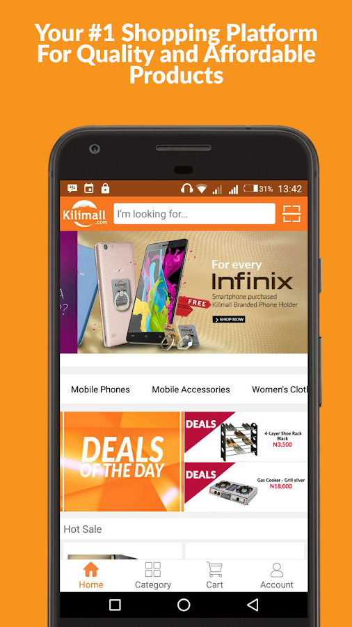 Kilimall - Online Shopping- screenshot