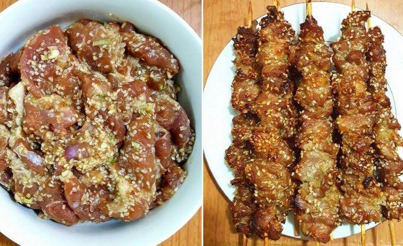 Công thức đơn giản làm thịt xiên nướng thơm lừng, ngon tuyệt tại nhà