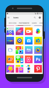 Rocsy Square - Icon Pack Screenshot