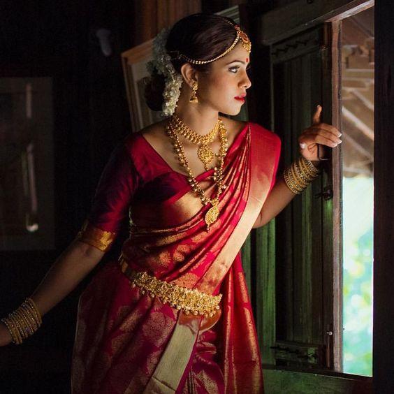 south indian wedding dress
