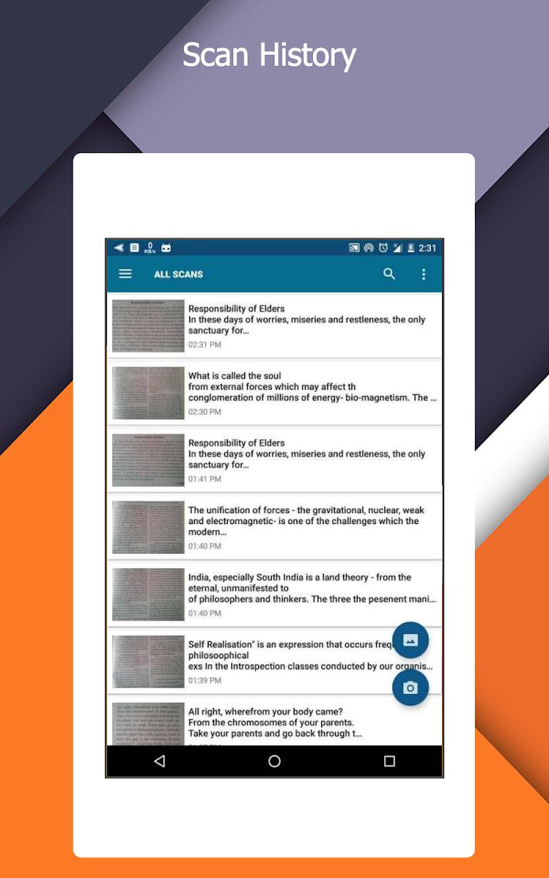 OCR Text Scanner  pro : Convert an image to text Screenshot 8