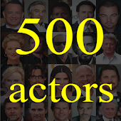 500 actors. Guess the actor.