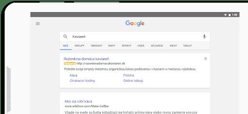 Inzercia vo Vyhľadávacej sieti