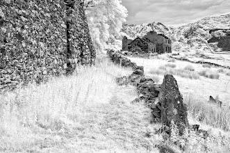 Photo: Derelict Farm, Cwm Pennant, Snowdonia Clive Haynes)
