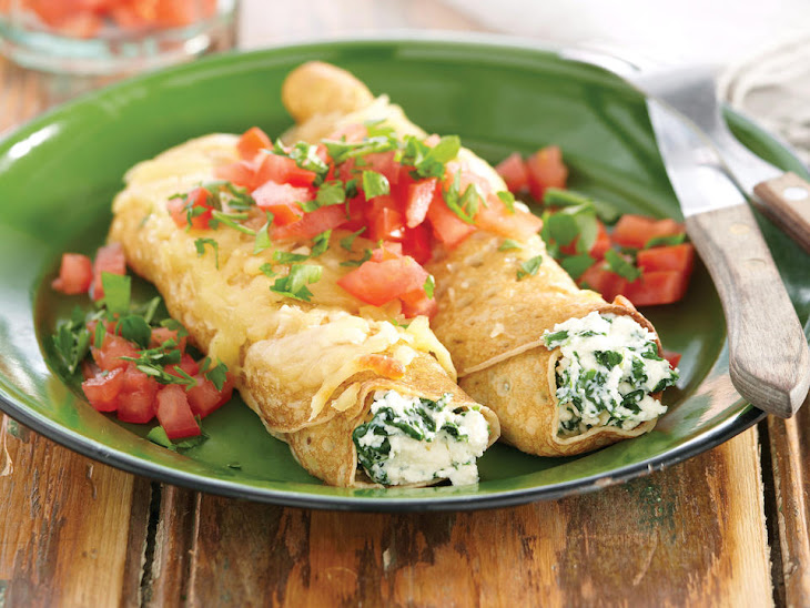 Spinach and Ricotta Crêpes