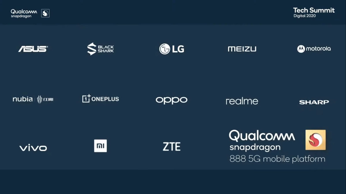 Snapdragon 888 partners official