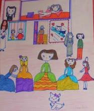 Photo: Meninas  Alumnado 5º Lourdes