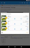Screenshot of WebVideoCaster Chromecast/DLNA