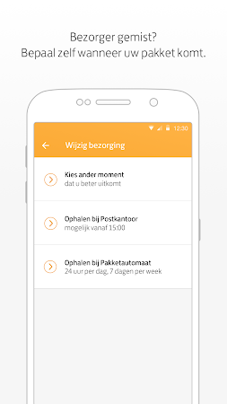 PostNL 3.16.3 screenshot 556202