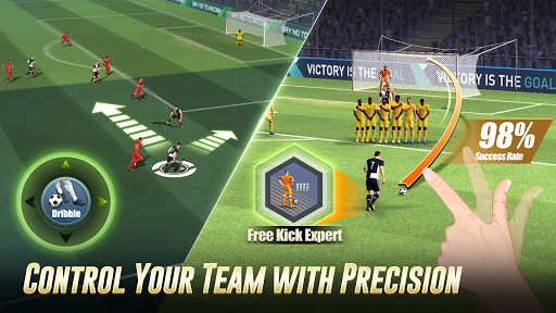 Code Triche Dream Score: Soccer Champion mod apk screenshots 2