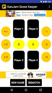 KanJam Score Keeper - náhled