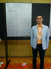 Photo: Matt at his poster (Photo Credit: Fusion Conferences)