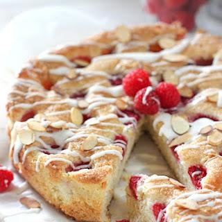 Fresh Raspberry Almond Cake