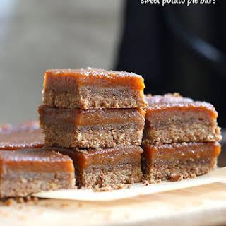 Sweet Potato Pie Bars with Cinnamony Crust.