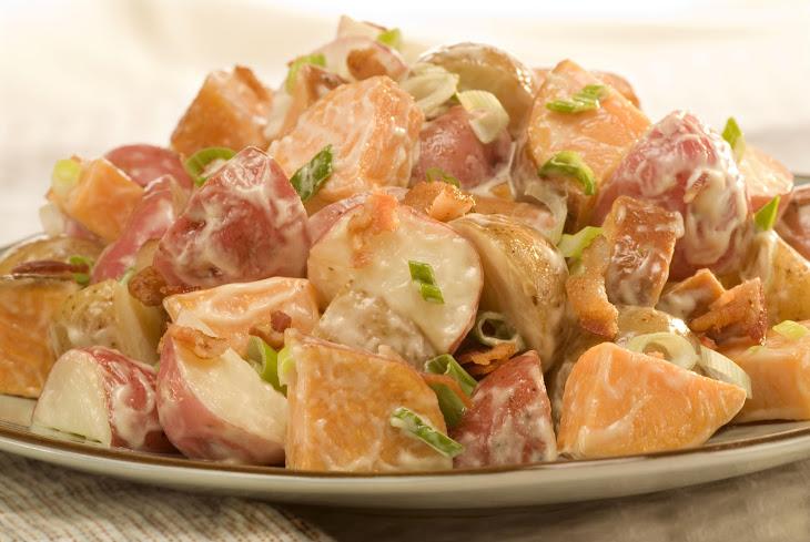 Three Potato Salad Recipe