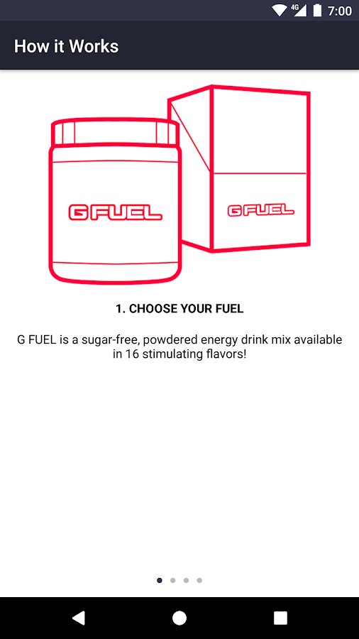 GFUEL- screenshot