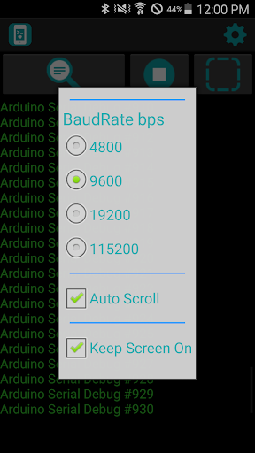 Serial Display for Arduino app (apk) free download for Android/PC/Windows screenshot