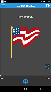 AM 1100 WZFG The Flag- screenshot thumbnail
