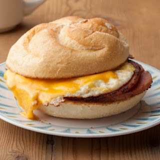 Pork Roll Sandwich with Egg & Cheese