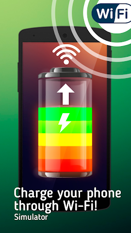 android WiFi Battery Charger Simulator Screenshot 0