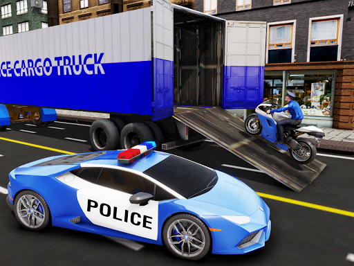 US Police Transporter Plane Simulator 2.1 screenshots 12