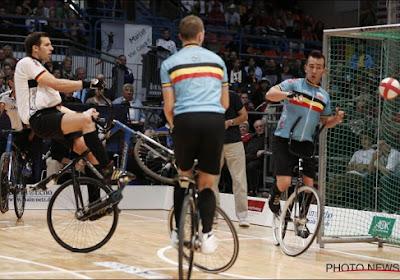 Net geen medaille voor Belgisch cyclobalduo op WK in eigen land