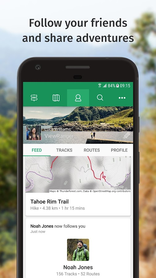 ViewRanger - Explore Rides & Hiking Trails- screenshot