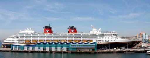Disney-Wonder-San-Diego - Disney Wonder visits the Port of San Diego.