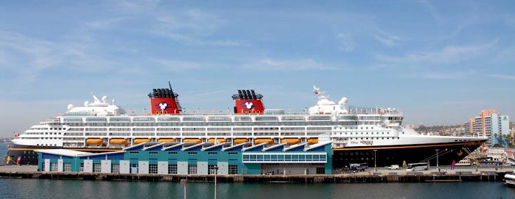 Disney Wonder visits the Port of San Diego.