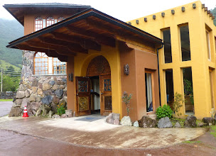 Photo: The hotel at Termas Papallacta