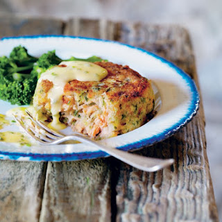 Deep-Trout Fish Cakes with Lemon Butter and Chive Sauce