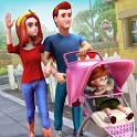 Virtual Mother Simulator Game : Family Life Games icon