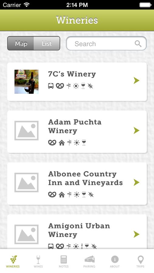 Missouri Wine - screenshot