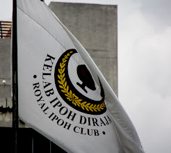 Photo: Year 2 Day 114 -  Flying the Flag of the Royal Ipoh Club