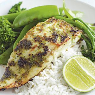 Green Chili Fish.