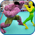 Monster Superhero Ring Battle icon