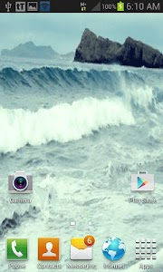 Nature Ocean Waves LWP screenshot 2