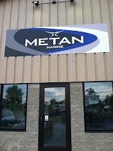 Photo: Metan Marine in Halifax, MA proudly displaying their BBB Accreditation