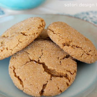Soft and Chewy Ginger Cookies- oh, so good!