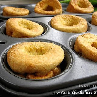 Low Carb Yorkshire Pudding (for Atkins Diet Phase 2)