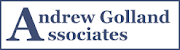 the andrew golland logo that leads to the homepage