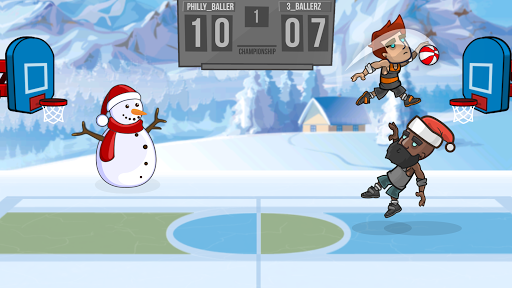 Basketball Battle - screenshot