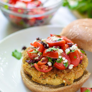 Mediterranean Quinoa Burgers Recipe