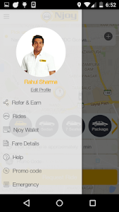 Njoy Cabs- Book City Ride Taxi screenshot 1