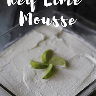 Key Lime Mousse Keto/Low Carb Recipe